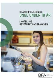 Unge under 18 år i Hotel og Restaurationsbranchen